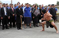 Rotorua-Rugby, RWC, Maori welcome for Samoans