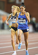 Letesenbet Gidey (ETH) places second in the women's 5,000m in 14:29.54 during the IAAF Diamond League final at the 44th Memorial Van Damme at King Baudouin Stadium, Friday, Sept. 6, 2019, in Brussels, Belgium. (Jiro Mochizuki/Image of Sport)