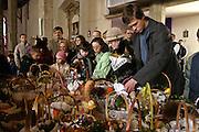 Easter food consecration ( polish Tradition ) photo Piotr Gesicki