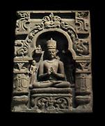Buddha paré. Pala-Sena dynasty (8th-12th century A.D) Sandstone sculpture from Bihar in India