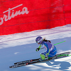 20120114: ITA, Alpine Ski - FIS Alpine Ski World Cup, Ladies Downhill in Cortina d'Ampezzo