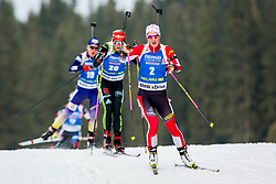 Katharina Innerhofer (AUT) during Women 15km Individual at day 5 of IBU Biathlon World Cup 2018/19 Pokljuka, on December 6, 2018 in Rudno polje, Pokljuka, Pokljuka, Slovenia. Photo by Ziga Zupan / Sportida