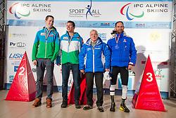RIBOUD Romain, WUERZ Martin, SALCHER Markus, 2015 IPCAS Europa Cup, Sella Nevea, Tarvisio, Italy