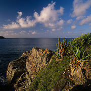 Yawzi Point and Lameshur Bay, Vrgin Islands National Park, St. John, U. S. Virgin Islands