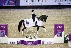 Werth Isabell, GER, Weihegold OLD<br /> Grand Prix Freestyle<br /> FEI World Cup Dressage Final, Omaha 2017 <br /> © Hippo Foto - Dirk Caremans<br /> 01/04/2017