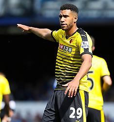 Watford's Etienne Capoue gestures - Mandatory byline: Matt McNulty/JMP - 07966386802 - 08/08/2015 - FOOTBALL - Goodison Park -Liverpool,England - Everton v Watford - Barclays Premier League