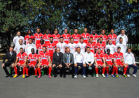 Equipe Nimes - 26.09.2013 - Photo officielle - Nimes 2013/2014 - Ligue 2<br /> Photo : Icon Sport