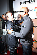 l to r: Jeremy Pivens and Common at the Common Celebration Capsule Line Launch with Softwear by Microsoft at Skylight Studios on December 3, 2008 in New York City..Microsoft celebrates the launch of a limited-edition capsule collection of SOFTWEAR by Microsoft graphic tees designed by Common. The t-shirt  designs. inspired by the 1980's when both Microsoft and and Hip Hop really came of age, include iconography that depicts shared principles of the technology company and the Hip Hop Star.