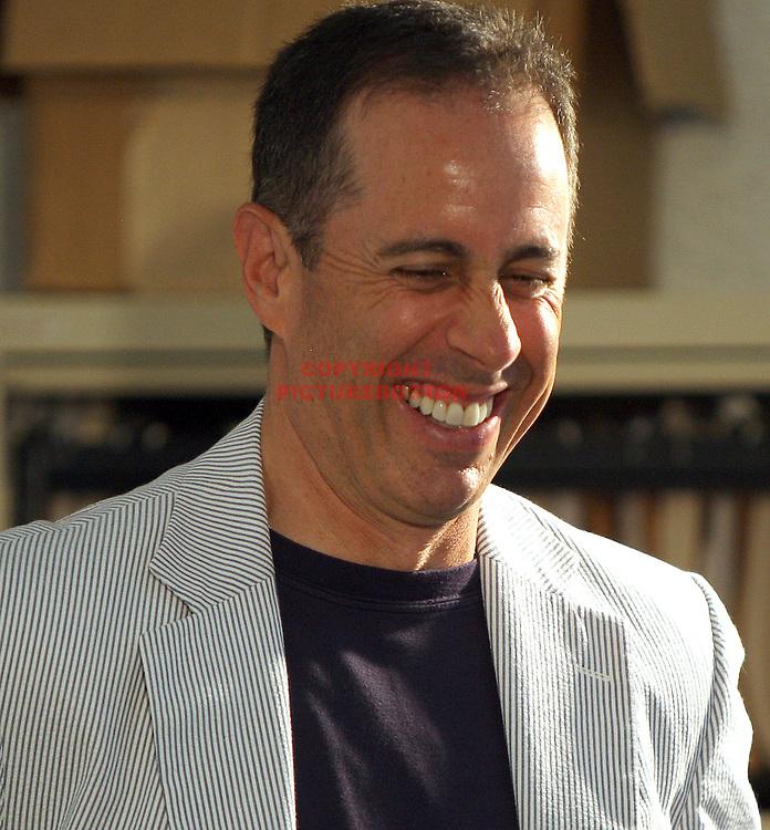 Jerry Seinfeld is seen at the Nantucket Film Festival, June 26,2011. Staff photo by Mark Garfinkel