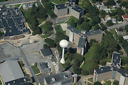 Aerial views West Chester University, West Chester, PA