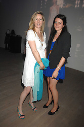 Left to right, JULIETTE FEATHERSTONE-HALL and ALICE DEEN at the Swarovski 'Runwy Rocks' held at the Phillips de Pury Gallery, Howick Place, London on 10th June 2008.<br /><br />NON EXCLUSIVE - WORLD RIGHTS