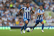 Brighton & Hove Albion centre forward Tomer Hemed (10) during the EFL Sky Bet Championship match between Brighton and Hove Albion and Barnsley at the American Express Community Stadium, Brighton and Hove, England on 24 September 2016.