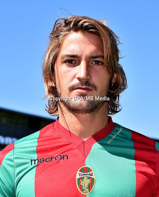 Italian League Serie B -2016-2017 / <br /> ( Ternana Calcio ) - <br /> Juan Ignacio Surraco