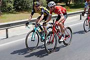 Bauke Mollema (NED - Trek - Segafredo), Steven Kruijswijk (NED - Team LottoNL - Jumbo), during the UCI World Tour, Tour of Spain (Vuelta) 2018, Stage 3, Mijas - Alhaurin de la Torre 178,2 km in Spain, on August 27th, 2018 - Photo Luis Angel Gomez / BettiniPhoto / ProSportsImages / DPPI