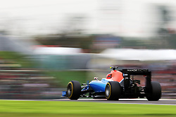 Esteban Ocon (FRA) Manor Racing MRT05.<br /> 08.10.2016. Formula 1 World Championship, Rd 17, Japanese Grand Prix, Suzuka, Japan, Qualifying Day.<br /> Copyright: Moy / XPB Images / action press