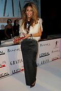 Uitreiking Grazia Red Carpet Awards in the Grand, Amsterdam.<br /> <br /> Op de foto:   Dani Bles met haar Red Carpet Style Goddess Award