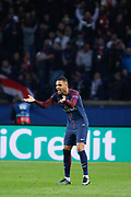 Layvin Kurzawa (psg) scored a new goal during the UEFA Champions League, Group B, football match between Paris Saint-Germain and RSC Anderlecht on October 31, 2017 at Parc des Princes stadium in Paris, France - Photo Stephane Allaman / ProSportsImages / DPPI