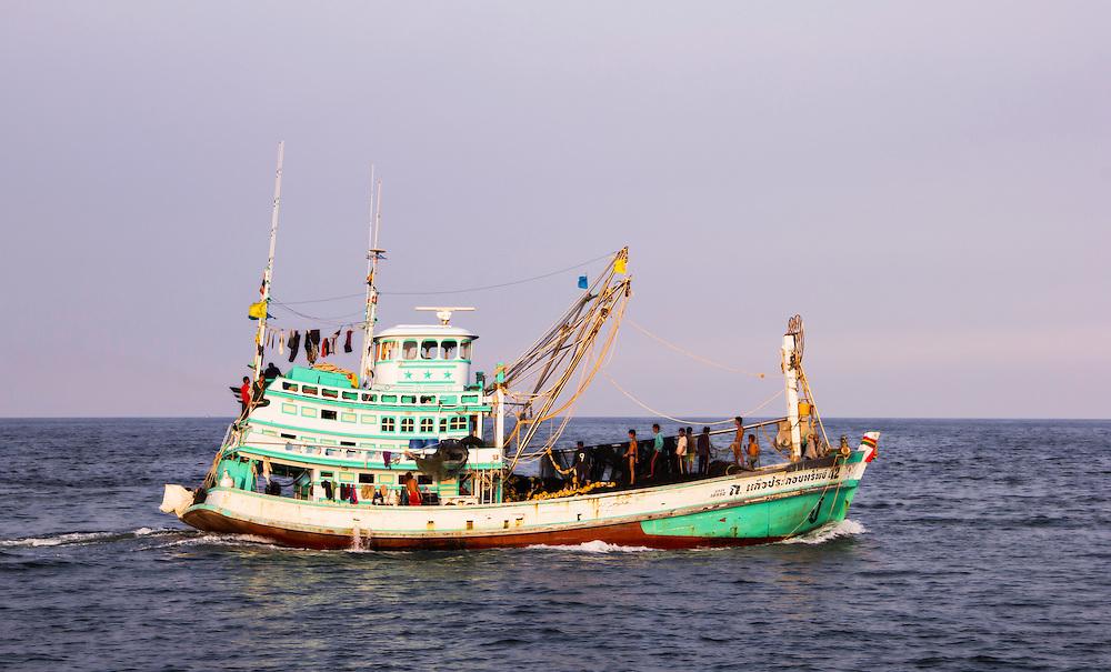Fishingboat, Sha Am, Thailand