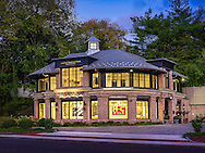Side Elevation at Dusk- 1292 Post Rd, Darien, CT