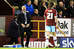 Burnley Manager Sean Dyche shouts at his players - Mandatory by-line: Matt McNulty/JMP - 05/04/2016 - FOOTBALL - Turf Moor - Burnley, England - Burnley v Cardiff City - SkyBet Championship