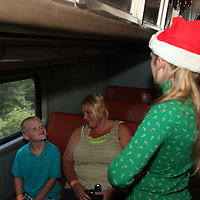 Kaleb's Polar Express at the Indiana Railway Museum and French Lick Scenic Railway, July 25, 2013.