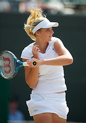 LONDON, ENGLAND - Saturday, July 3rd, 2010: Kristyna Pliskova (CZE) during the Girls' Singles Final match on day twelve of the Wimbledon Lawn Tennis Championships at the All England Lawn Tennis and Croquet Club. (Pic by David Rawcliffe/Propaganda)