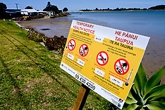 Northland-Pollution warnings on Ngunguru River
