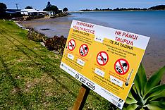 Northland-Pollution warnings on Ngunguru River
