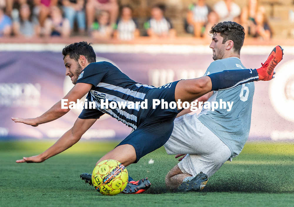Asheville City Soccer Club defeated Emerald Force 2-1 in Memorial Stadium in Asheville, NC on June 14, 2018.