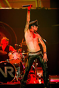 NEW YORK, NY - SEPTEMBER 18:  Velvet Revolver performs on stage at the Miller Rock Thru Time Celebrating 50 Years of Rock Concert at Roseland September 18, 2004 in New York City.  (Photo by Matt Peyton)