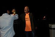 David wearing his 'Photo Service' tee shirt.