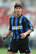 JAVIER ZANETTI.INTER MILAN.SONY AMSTERDAM TOURNAMENT.AMSTERDAM ARENA,AMSTERDAM,HOLLAND.01/08/2003.DID14419