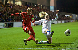NEWPORT, WALES - Thursday, April 4, 2019: Wales' captain Loren Dykes during an International Friendly match between Wales and Czech Republic at Rodney Parade. The game ended in a 0-0 draw.  (Pic by David Rawcliffe/Propaganda)