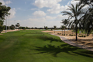 1st tee of the 9 hole course, The Track at The Meydan Golf Club, Dubai, United Arab Emirates.  31/01/2016. Picture: Golffile | David Lloyd<br /> <br /> All photos usage must carry mandatory copyright credit (© Golffile | David Lloyd)