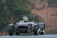 #909 Philip Horne Caterham Blackbird 1340 during the CSCC Gold Arts Magnificent Sevens at Oulton Park, Little Budworth, Cheshire, United Kingdom. October 15 2016. World Copyright Peter Taylor/PSP. <br /> Copy of publication required for printed pictures.  Every used picture is fee-liable. http://archive.petertaylor-photographic.co.uk