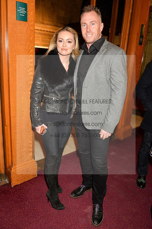 OLA JORDAN and JAMES JORDAN at the opening night of Amaluna by Cirque Du Soleil at The Royal Albert Hall, London on 19th January 2016.