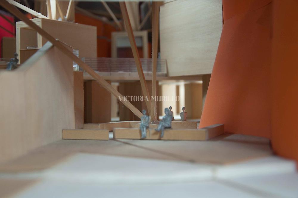 Biomuseo. Museo de la Biodiversidad-puente de vida.<br /> Primer edificio diseñado para Latinoamérica por el Arquitecto Frank Gehry.<br /> Maquetas del edificio.<br /> ©Victoria Murillo/Istmophoto.com