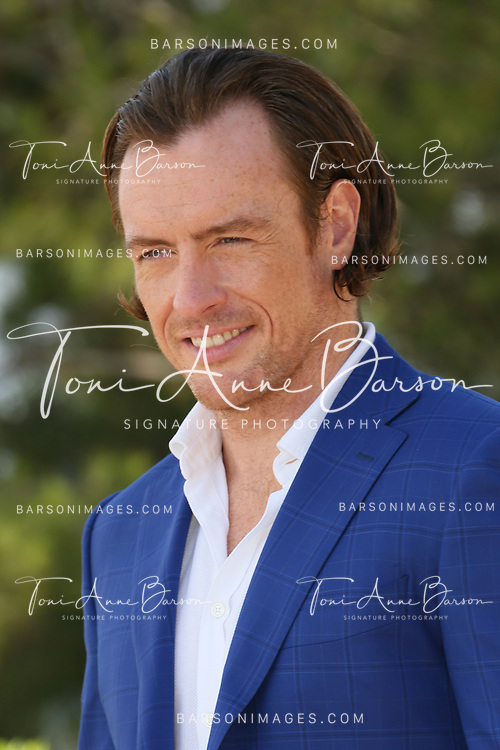 """MONTE-CARLO, MONACO - JUNE 10:  Toby Stephens attends """"Black Sails"""" Photocall at the Grimaldi Forum on June 10, 2014 in Monte-Carlo, Monaco.  (Photo by Tony Barson/FilmMagic)"""