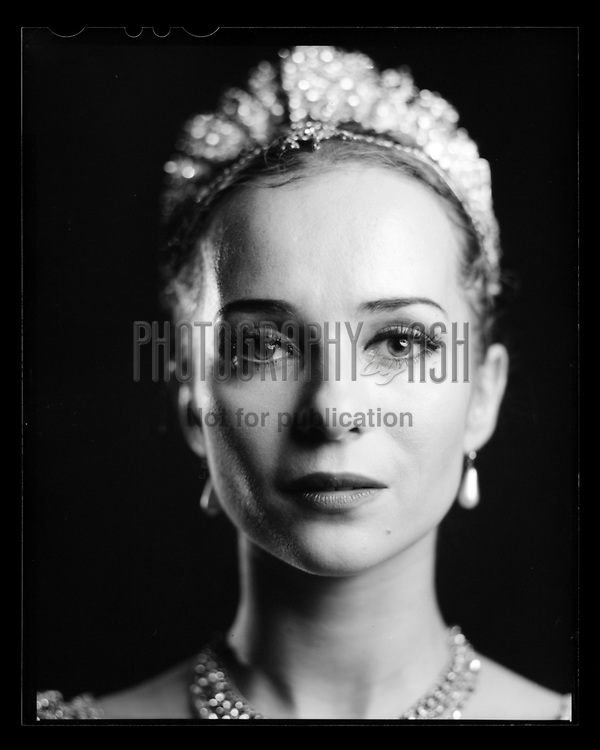 Katja Khaniukova as Gulnare from English National Ballet's Le Corsaire. London Coliseum Theatre 16 January 2016. Taken on 4x5 large format camera. Photo: Arnaud Stephenson