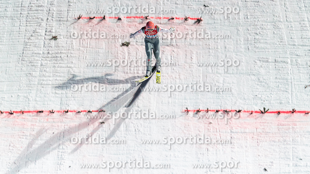 06.01.2016, Paul Ausserleitner Schanze, Bischofshofen, AUT, FIS Weltcup Ski Sprung, Vierschanzentournee, Bischofshofen, Finale, im Bild Severin Freund (GER) // Severin Freund of Germany during his 1st round jump of the Four Hills Tournament of FIS Ski Jumping World Cup at the Paul Ausserleitner Schanze in Bischofshofen, Austria on 2016/01/06. EXPA Pictures © 2016, PhotoCredit: EXPA/ JFK
