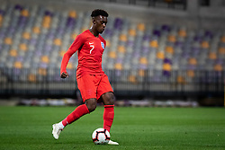 Joe Willock of England during friendly Football match between U21 national teams of Slovenia and England, on October 11, 2019 in Ljudski Vrt, Maribor, Slovenia. Photo by Blaž Weindorfer / Sportida