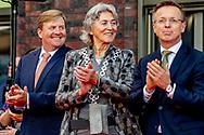 SCHEEMDA - Koning Willem-Alexander bezoekt patienten na de opening van het nieuwe Ommelander Ziekenhuis Groningen. Het ziekenhuis is een samenvoeging van ziekenhuizen in Winschoten en Delfzijl.