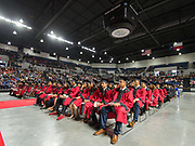Furr / Reach High School graduation in Delmar Fieldhouse, May 26, 2017. The ceremony was the first graduation to be held in the newly constructed facility.