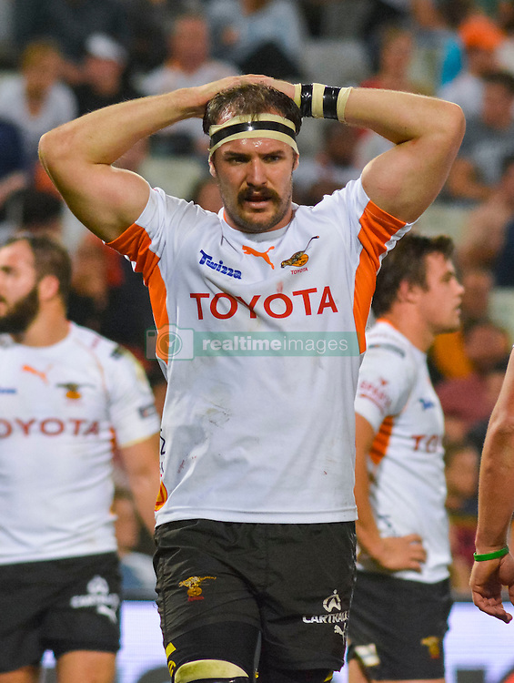 Henco Venter of the Free State Cheetahs during the Currie Cup Premier division match between the The Free State Cheetahs and the Lions held at Toyota Stadium (Free State Stadium), Bloemfontein, South Africa on the 15th September 2016<br /> <br /> Photo by:   Frikkie Kapp / Real Time Images