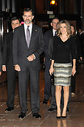 Princess of Asturias with Felipe concert prior to the awards ceremony, Madrid, Spain, October 25, 2012. Photo by Rogelio Pinate / Sevenpixnews / i-Images...UK ONLY.SPAIN OUT