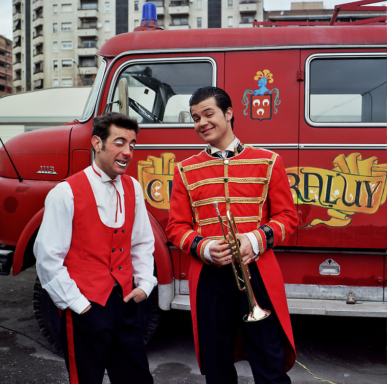 Clowns, Circus Raluy