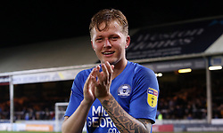 Frankie Kent of Peterborough United is all smiles at full-time - Mandatory by-line: Joe Dent/JMP - 23/10/2019 - FOOTBALL - Weston Homes Stadium - Peterborough, England - Peterborough United v Accrington Stanley - Sky Bet League One