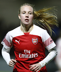 February 7, 2019 - London, England, United Kingdom - Beth Mead of Arsenal .during FA Continental Tyres Cup Semi-Final match between Arsenal and Manchester United Women FC at Boredom Wood on 7 February 2019 in Borehamwood, England, UK. (Credit Image: © Action Foto Sport/NurPhoto via ZUMA Press)