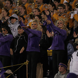 15 November 2008: LSU golden girls perform from the stands during the LSU Tigers 40-31 come from behind victory over the Troy Trojans at Tiger Stadium in Baton Rouge, LA.