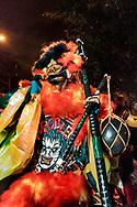 """""""Problematico"""" clown in Osvaldo Cruz, Carnival 2017, North Zone of Rio de Janeiro"""
